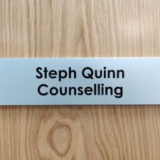 Steph Quinn Counselling Name placard